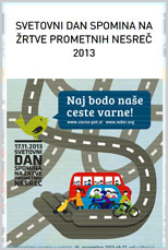 Svetovni dan spoimna na žrtve nesreč 2013